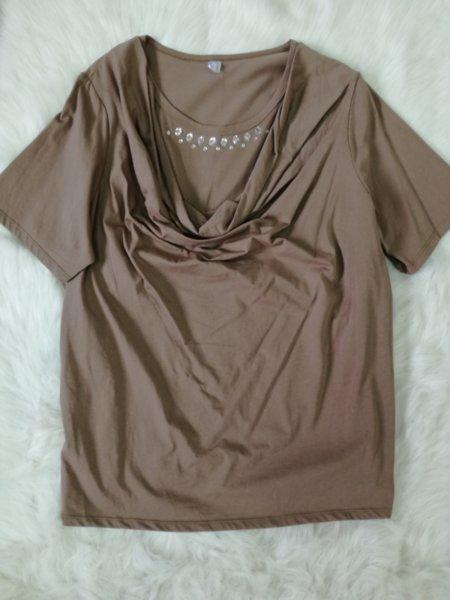 Дамска блуза с камъчета